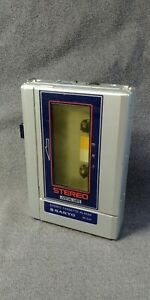 Working Sanyo MG10 Tape Stereo Cassette Player Portable The Cars Heartbeat City