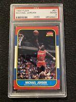 Michael Jordan ROOKIE PSA 2 Fleer 1986 INFLATION HEDGE #57 Investable Asset GIFT