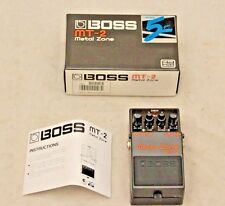 BOSS MT-2 Metal Zone Pedale Boxed - 250