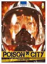 manga Poison City Tome 1 Seinen Tetsuya Tsutsui Ki-Oon Suspense VF Tokyo 2020