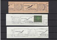 German Shipspost Stamps Cancels on Piece Ref 23884