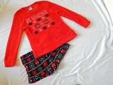 Spiderman Christmas 2pc Pajamas Sleep Set Winter Lounge NEW Womens Large 12-14