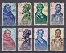 ESPAÑA (1963) MNH NUEVO SIN CHARNELA SPAIN - Sc# 1187/94 FORJADORES DE AMERICA