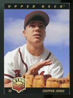 1993 upper deck #24 CHIPPER JONES atlanta braves ROOKIE prospects