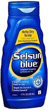 Selsun Blue Dandruff Shampoo Itchy Dry Scalp 11 oz