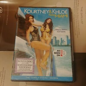 Kourtney & Khloe Take Miami NEW SEALED DVD