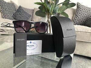 Mens Prada Sunglasses. Silver Frame.