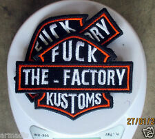 3X FACTORY KUSTOMS Patch WEST COAST CHOPPERS INDIAN LARRY JESSE JAMES BILLY LANE