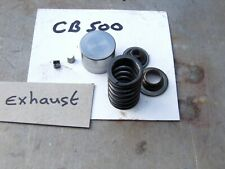 Honda CB500 Exhaust Valve Spring Seat Collets Racing Spares