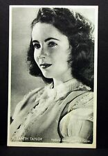 Elizabeth Taylor - Movie Actor Photo Film Autogramm-Karte AK (Lot-I-7100