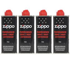 Feuerzeugbenzin ZIPPO 4 x Original Benzin je 125 ml Zippo Feuerzeuge