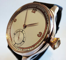 Gorgeous Elegant 44mm Art Deco Dial PILOT's 6498 Aviators Vintage Look Parnis