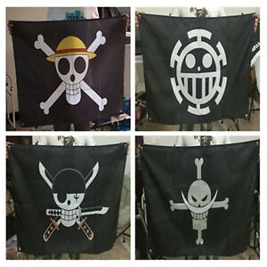 Luffy Flag Jolly Roger Pirate Flag 60cmx90cm High Quality One Piece Home Decor