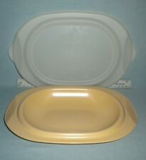 Tupperware Ovenworks New 2 Cup Oval Set in Dijon yellow (2 piece)