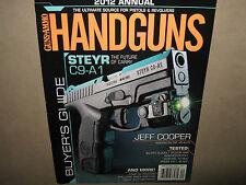 NEW Guns & Ammo HANDGUNS 2012 Annual Pistols Revolvers Buyer's Guide Steyr C9-A1