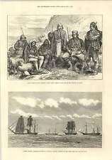 1875 Civil Guards Dalmatia Escorting Robber To Bosnia