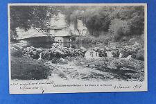 Carte postale ancienne CHATILLON-SUR-SEINE - La Douix et sa Cascade