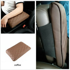 Car Armrest Pad Center Console Wave Pattern Embroider PU Leather Hand Supports