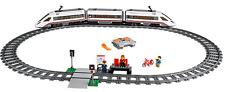 LEGO RC Treno Set 60051 ad alta velocità Treno passeggeri 2014 mattoni COMPLETO