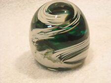MONTE DUNLAVY ART GLASS PAPERWEIGHT