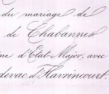 Antoine Chabannes La Palice 1860 Cardevac D'Havrincourt