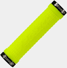 Lizard Skins Charger Lock On Handlebar Grips Neon Green Mtb