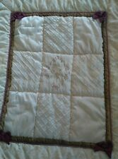 EUV PETIT TRESOR OF BEVERLY HILLS VERSAILLES LUXURY CRIB Comforter Blanket Quilt