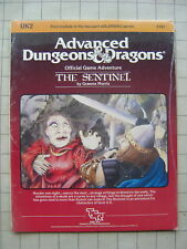 THE SENTINEL UK2 new in shrink  AD&D Dungeons & Dragons D&D tsr
