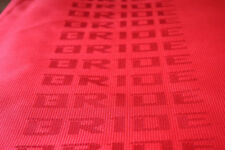 3M×1.6M JDM Red Bride Seat Fabric Racing Car Seats Cover Interior Cloth