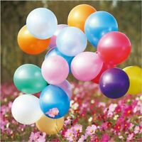 100pcs/lot Mixed Color Round Shape Latex Ballon Party Birthday Wedding Balloons