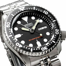 Seiko Automatic SKX007K2 Watch Diver 200M New with free Watch strap Rubber