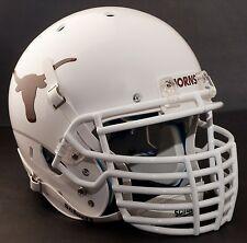 "TEXAS LONGHORNS ***MINI*** Football Helmet Nameplate ""HORNS"" Decal/Sticker"