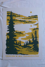 IRON & WINE PIONER PARK 2012 Limited edition screen-printed poster