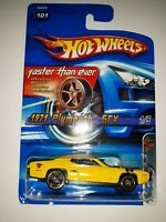 Hot Wheels 1971 Plymouth GTX. Faster Than Ever Series. 2005 Mattel. (P-37)