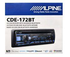 Alpine CDE-172BT Advanced CD Receiver Bluetooth In-Dash CD/AM/FM Car Stereo NEW