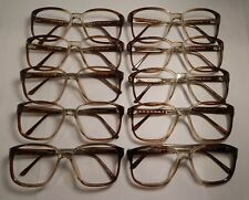 Vintage 10 Pc. Lot Elite Richard Timber Gradient 56/20 Eyeglass Frame Nos #S18