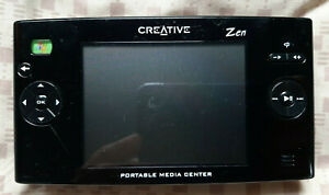 PMC-HD0001 Creative Zen Portable Media Center - No Battery Untested