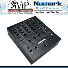 Numark M6 USB Black 4-Channel USB DJ Mixer Use W/ Turntables & CD players M6USB
