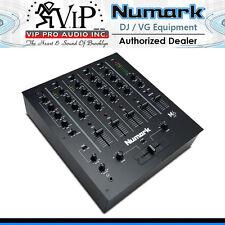 Numark M6 USB Black 4-Channel USB DJ Mixer Use W/ Turntables & CD players M6USB