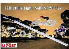 LED 8520 50cm Utility Light with 5m cable switch merit plug Camping Caravan 4X4