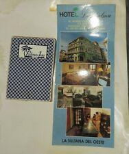 Hotel La Palma Mayaguez Puerto Rico Paquete Baraja Y Promo  (Baraja Azul )