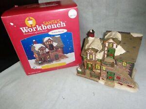 2003 Santa's Workbench NYM'S NOOK Christmas Village House #664-1153