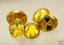 41.60CT Yellow Cubic Zircon 5Pc 12x10x5MM A+++ Quality Wholesale lot Gem W195 PL