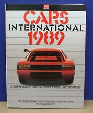 Hallwag's PRS Cars International 1989 Automotive revue Exc Cond