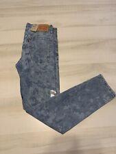 Levis 510 Skinny Jeans Mens Size 30x32 Light Wash Camo Stretch Denim