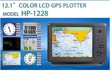 "Matsutec 12"" Color LCD Marine Boat GPS Chart Plotter Work with C-map MAX SD card"