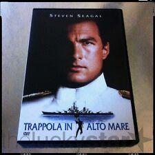 TRAPPOLA IN ALTO MARE Steven Seagal RARO DVD Warner Bros. AZIONE Fuori Catalogo