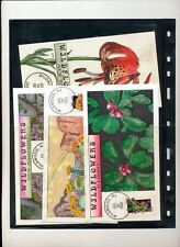 USA 1992 Flowers Collins Hand Painted x 50 FDC Covers(ZA 365