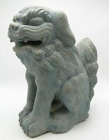 Asian Oriental 1962 Austin Prod. Cast Durastone 13in Foo Dog Figure