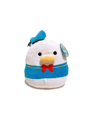 """Squishmallows Kellytoy 2021 Disney Collections 12"""" Donald Duck Plush Doll Toy"""